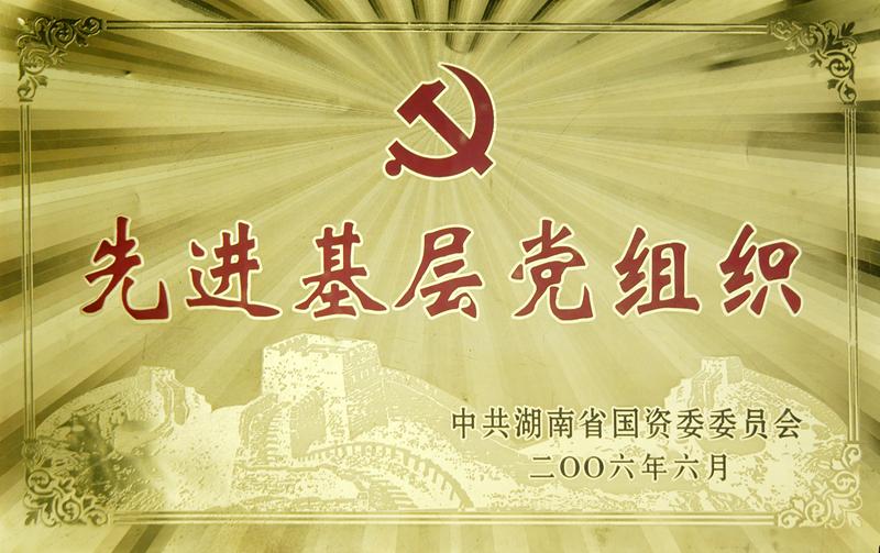 湖南省先进基层党组织