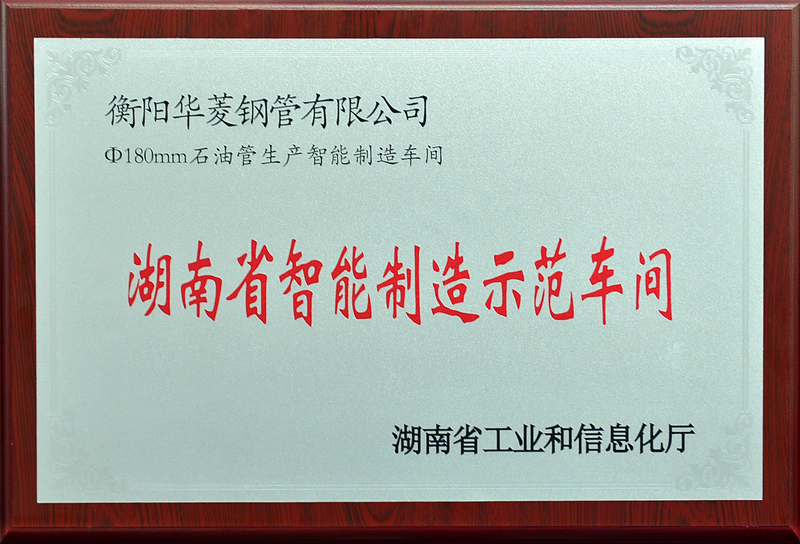 湖南省智能制造示范车间